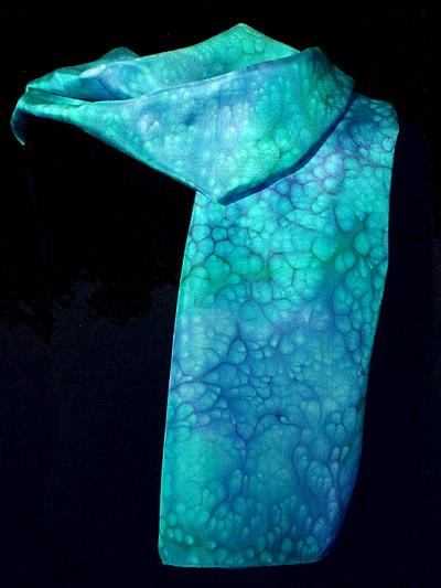 Blue Sugar Silk Scarf